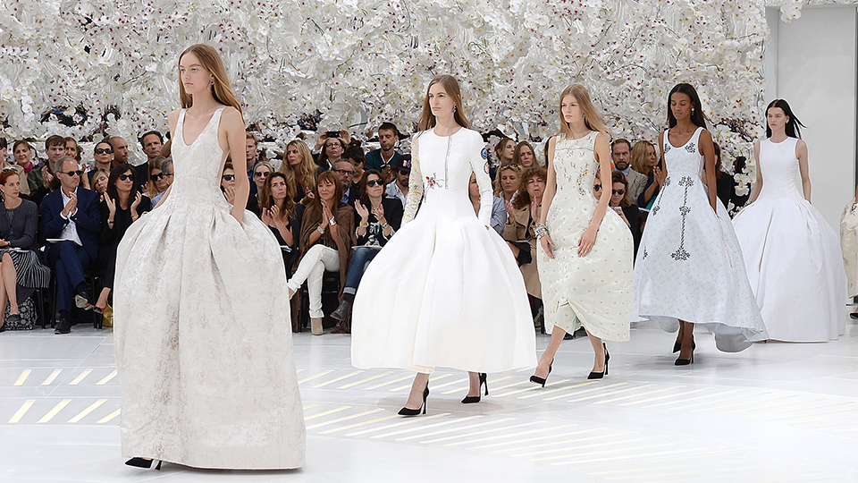 A Look Back at Raf Simons's Greatest Hits and Most Gorgeous Gowns at Dior