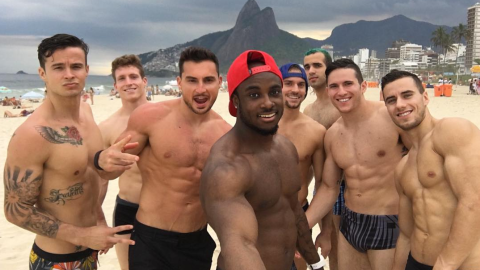 Go Ahead: Our Men's Gymnastics Team Wants You to Objectify Them | StyleCaster