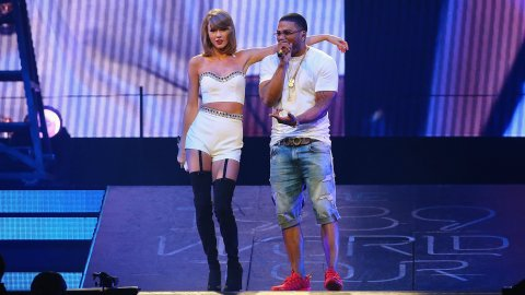 Taylor Swift and Nelly's Surprise Duet Is Kind of Everything    StyleCaster