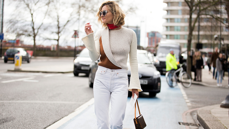 Where to Buy White Jeans That Aren't Totally See-Through