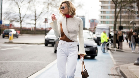 Where to Buy White Jeans That Aren't Totally See-Through | StyleCaster