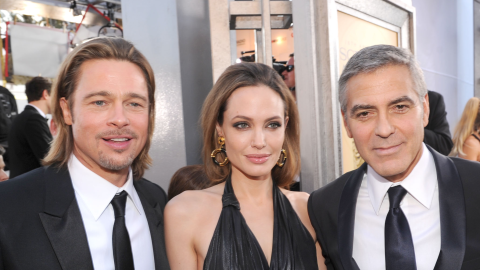 George Clooney's Reaction to Brangelina's Divorce Is All of Us | StyleCaster