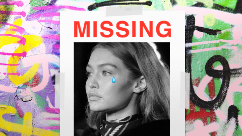 Missing: Gigi Hadid's Pants   StyleCaster