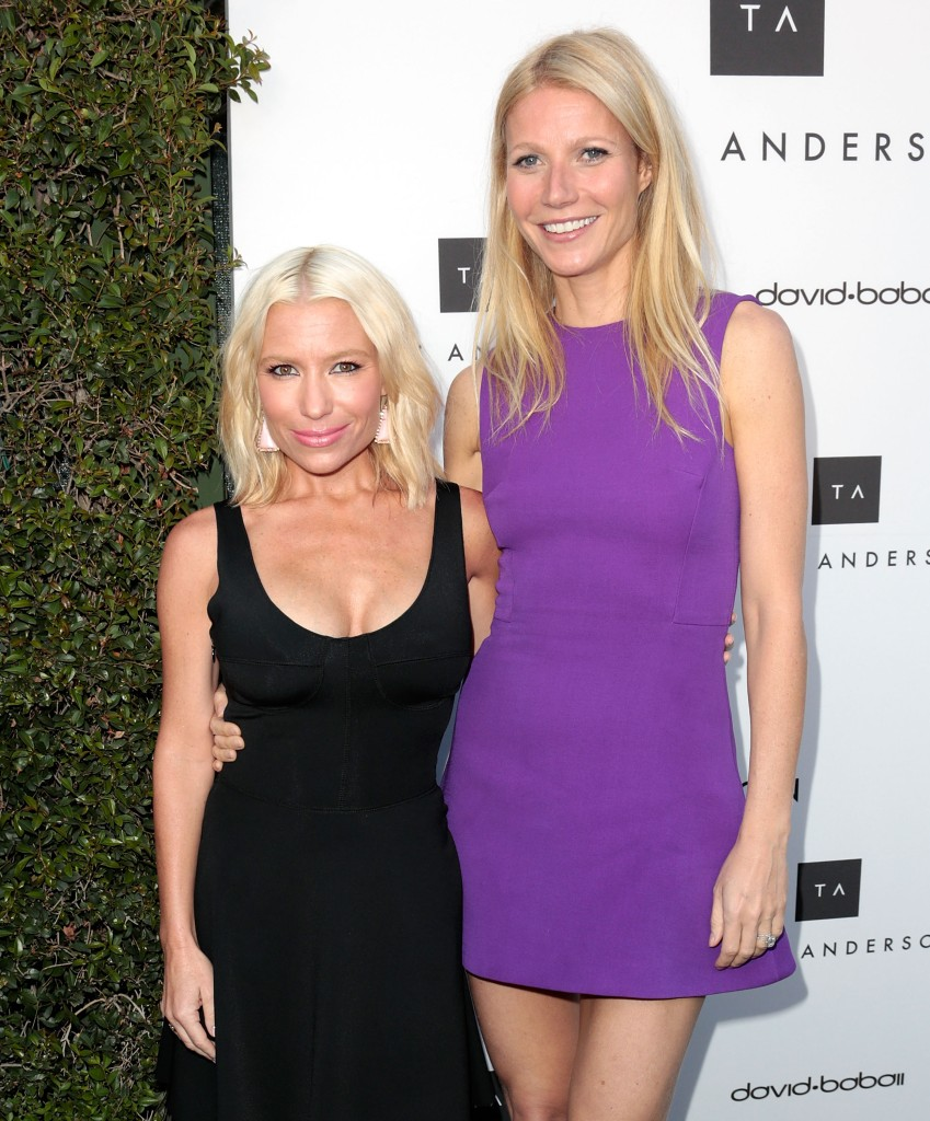 Tracy Anderson and Gwyneth Paltrow. Photo: Wenn