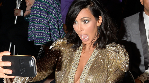 Kim Kardashian Took a Record-Breaking Amount of Selfies in 4 Days | StyleCaster