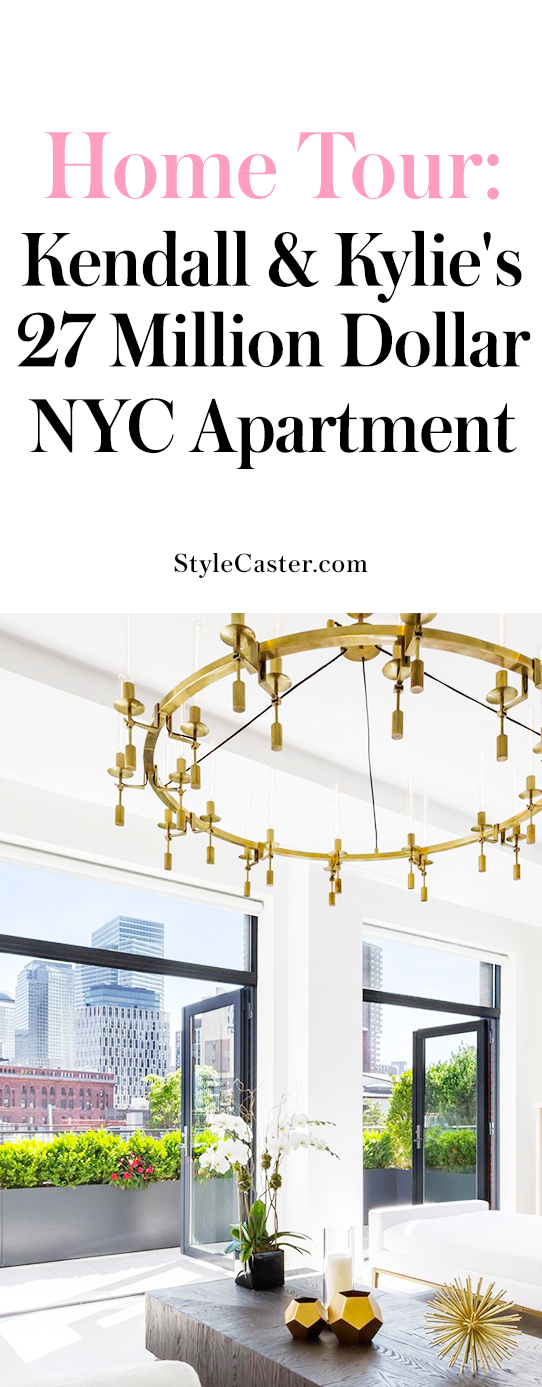 Tour inside Kendall and Kylie Jenner's NYC apartment | @stylecaster