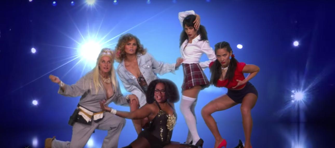 Watch Chrissy Teigen, Olivia Munn, and Jenna Dewan Tatum Strip in a 'Magic Mike' Sendup