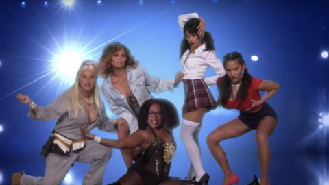 Watch Chrissy Teigen, Olivia Munn, and Jenna Dewan Tatum Strip in a 'Magic Mike' Sendup | StyleCaster
