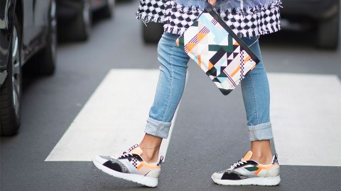 24 Next-Level Ways to Absolutely Live in Your Sneakers This Fall | StyleCaster