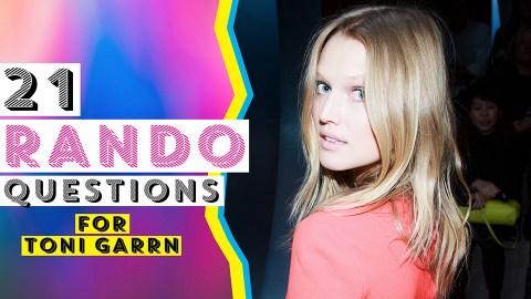Toni Garrn Talks Vegan Ice Cream, German Swear Words, and Her Most-Used Emoji | StyleCaster