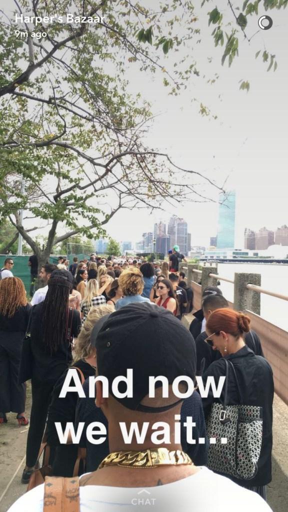 Snapchat / Harper's Bazaar