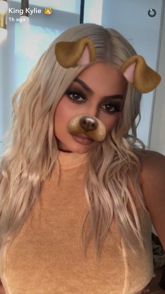 Snapchat / Kylie Jenner