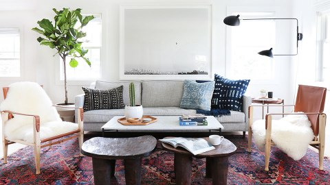 15 Ways a Chic Rug Can Totally Make a Space | StyleCaster