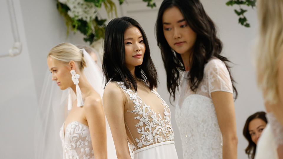 The 6 Biggest Trends from Bridal Week Fall 2017