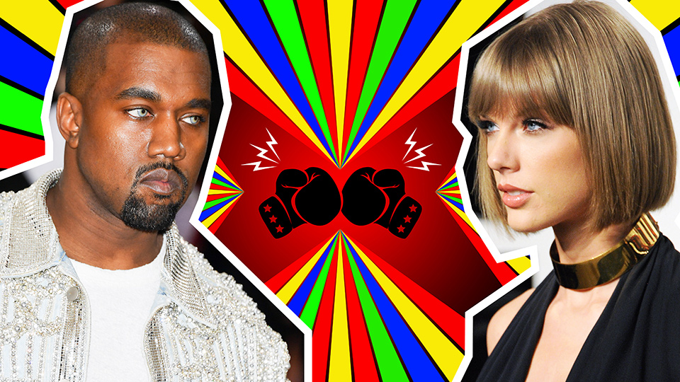 The Biggest Celebrity Feuds of 2016
