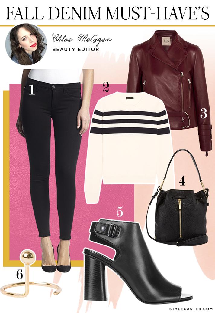chloe black skinny jeans1 How 8 STYLECASTER Editors Style Falls Must Have Denim