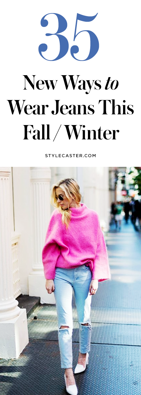 35 fall jeans outfit ideas | @stylecaster