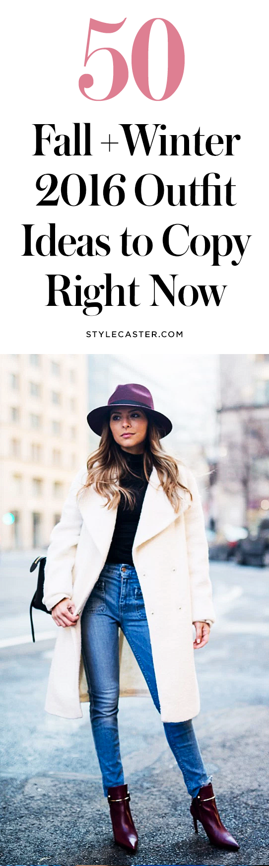 50 fall + winter outfit ideas | @stylecaster