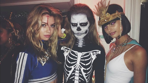 How Models, Designers, and Street Style Stars Do Halloween | StyleCaster