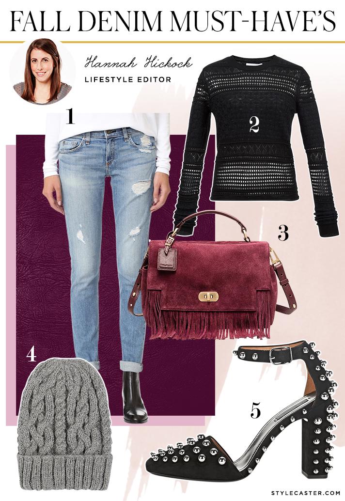 hannah denim jeans1 How 8 STYLECASTER Editors Style Falls Must Have Denim