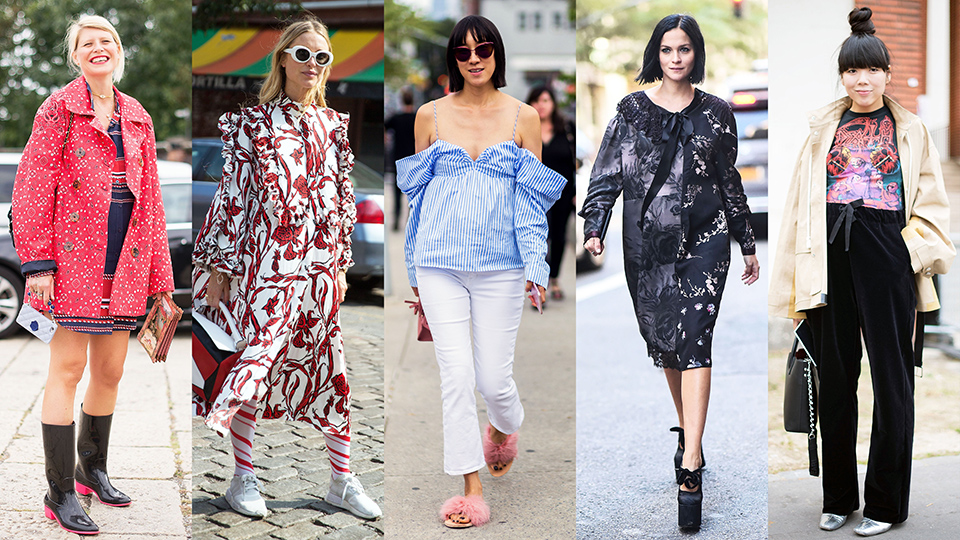 The Best Maternity Street Style from Fashion Month | StyleCaster