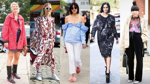 The Best Maternity Street Style We Spotted at Fashion Month | StyleCaster