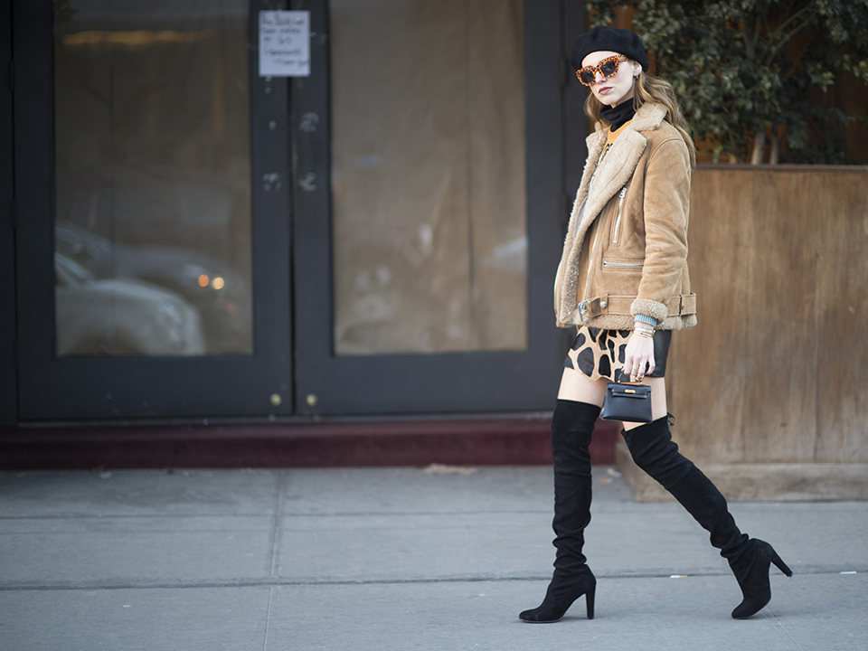 14 Fresh Ways to Wear Over-the-Knee Boots This Fall