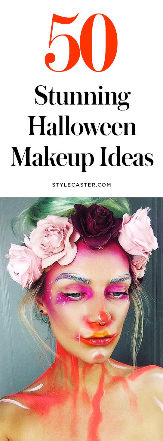 50 pretty Halloween makeup ideas | @stylecaster