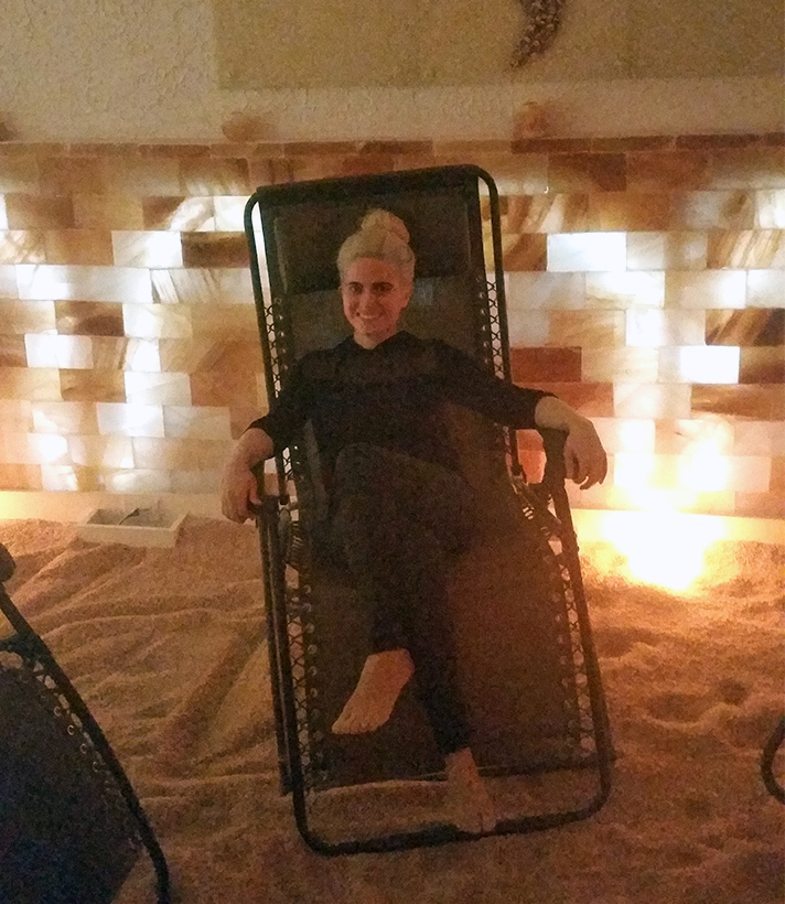 Dry Salt Therapy Treatment