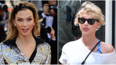 Lookalike Alert: Karlie Looks Just Like Taylor with Her New Haircut | StyleCaster