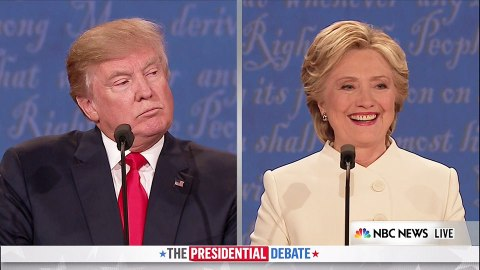 7 of the Wildest Moments from the Third Presidential Debate | StyleCaster