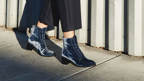 Where to Buy Velvet Boots at Every Height   StyleCaster