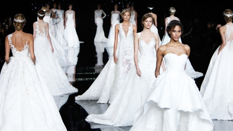 The Best Wedding Dress Inspo From Bridal Fashion Week | StyleCaster