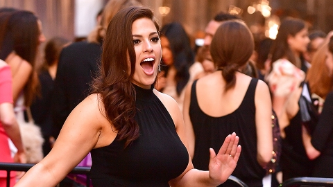 Ashley Graham Just Posted a Sweaty, Makeup-Free Selfie About Her Boobs | StyleCaster