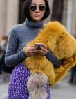 20 Luxe Fur Stoles to Wear All Winter Long