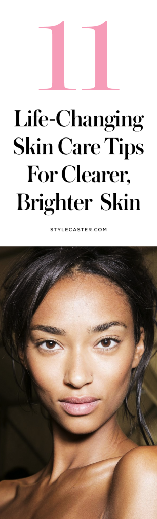 best skin care tricks tips acne1 The Best Skin Care Tricks For Clearer, Brighter, Better Skin