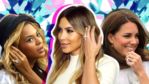 The Most $$$ Celeb Engagement Rings We've Ever Seen | StyleCaster