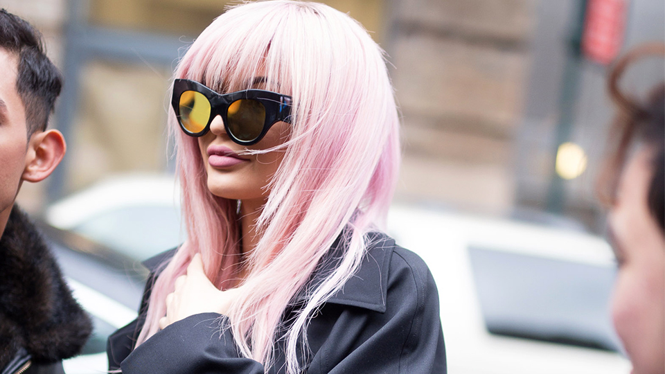 15 Celebrities Who Dyed Their Hair Pink in 2016