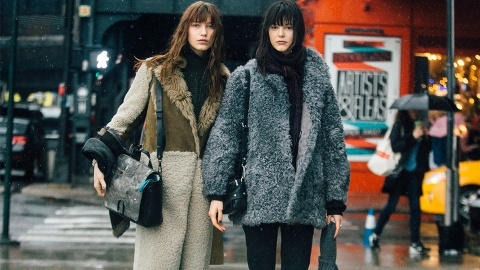 23 Faux Fur Coats to Cozy Up In Now | StyleCaster