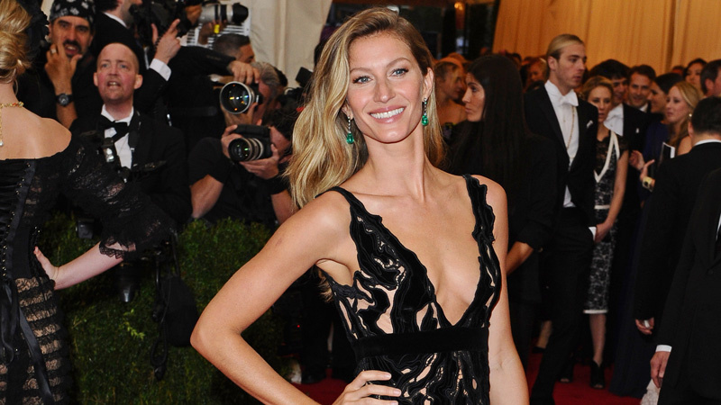 How Gisele Tricks Her Kids into Thinking This Healthy Food Is Ice Cream