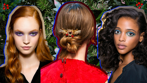 50 So-Pretty Holiday Hair Ideas to Try This Season | StyleCaster