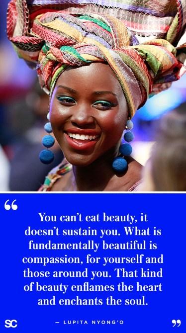 lupita nyongo10 45 Non Cheesy Quotes on Body Image