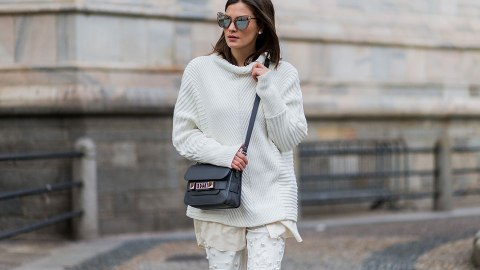 18 Fresh Ways to Wear All-White This Winter   StyleCaster