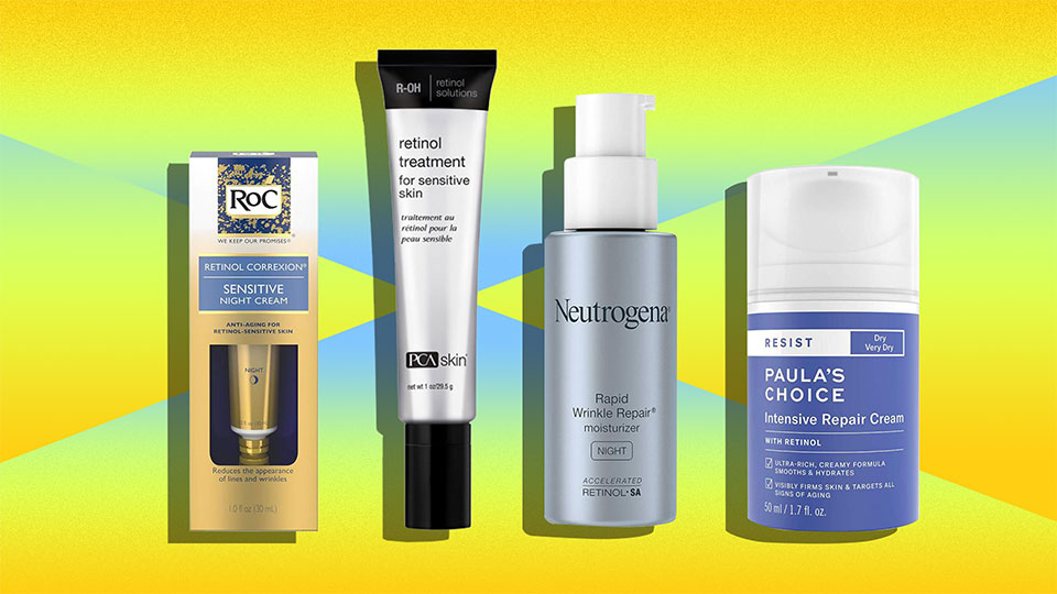 The Best Retinol For Sensitive Skin, Because the Tingling Isn't For Everyone