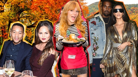 An Inside Look at How Celebs Celebrate Thanksgiving | StyleCaster