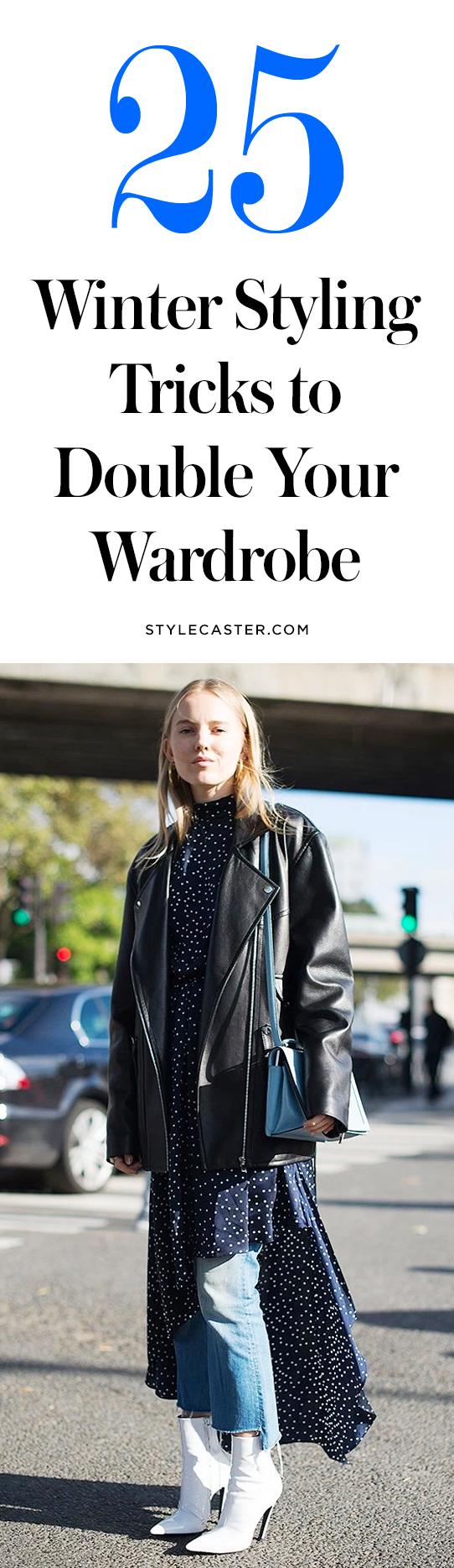 25 winter styling tricks to copy | @stylecaster