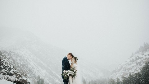 Stunning Winter Wedding Ideas to Steal Now   StyleCaster