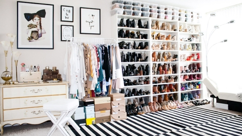 30 Ways to Organize Your Closet | StyleCaster