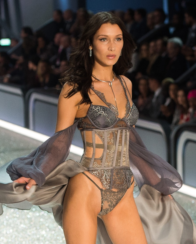 bella hadid victorias secret Bella Hadid Just Slayed Her 1st Victorias Secret Show Ever