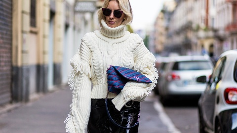The Street Style Guide to Looking Chic in a Sweater | StyleCaster